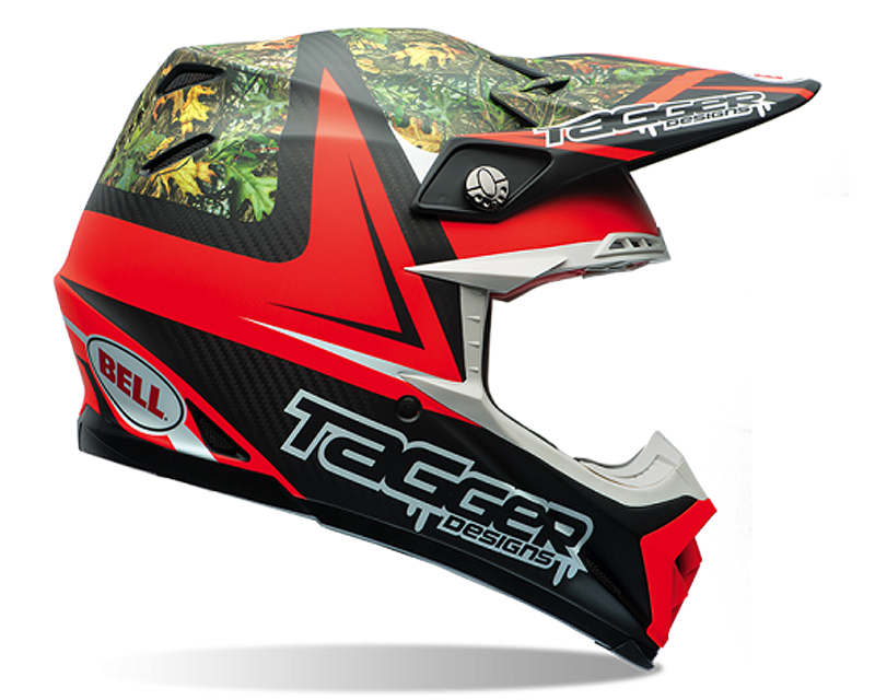 Bell Racing 7060854 Moto-9 Carbon Tagger Rekluse Helmet 62-63 | 2XL