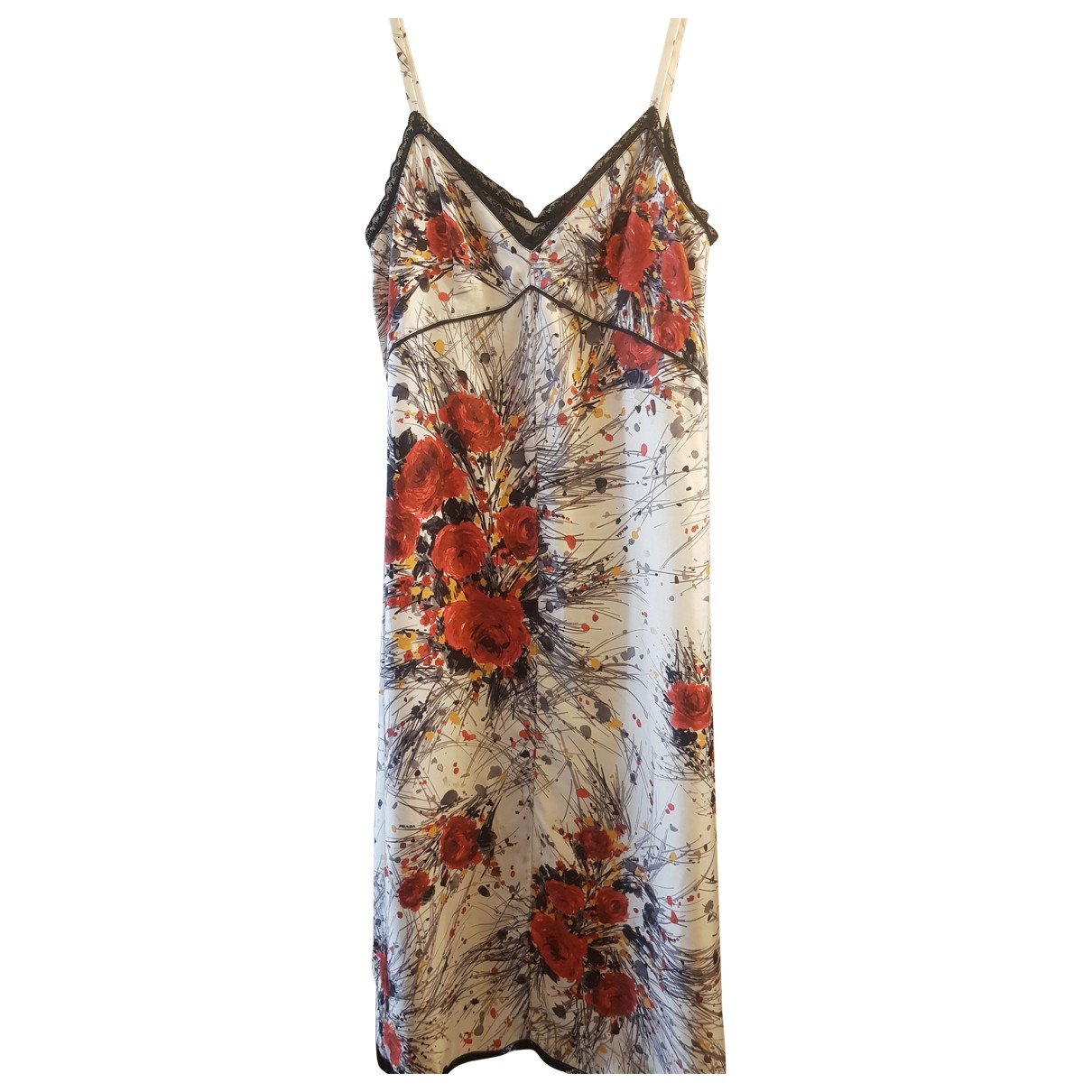 Prada N Multicolour Silk dress for Women 38 IT