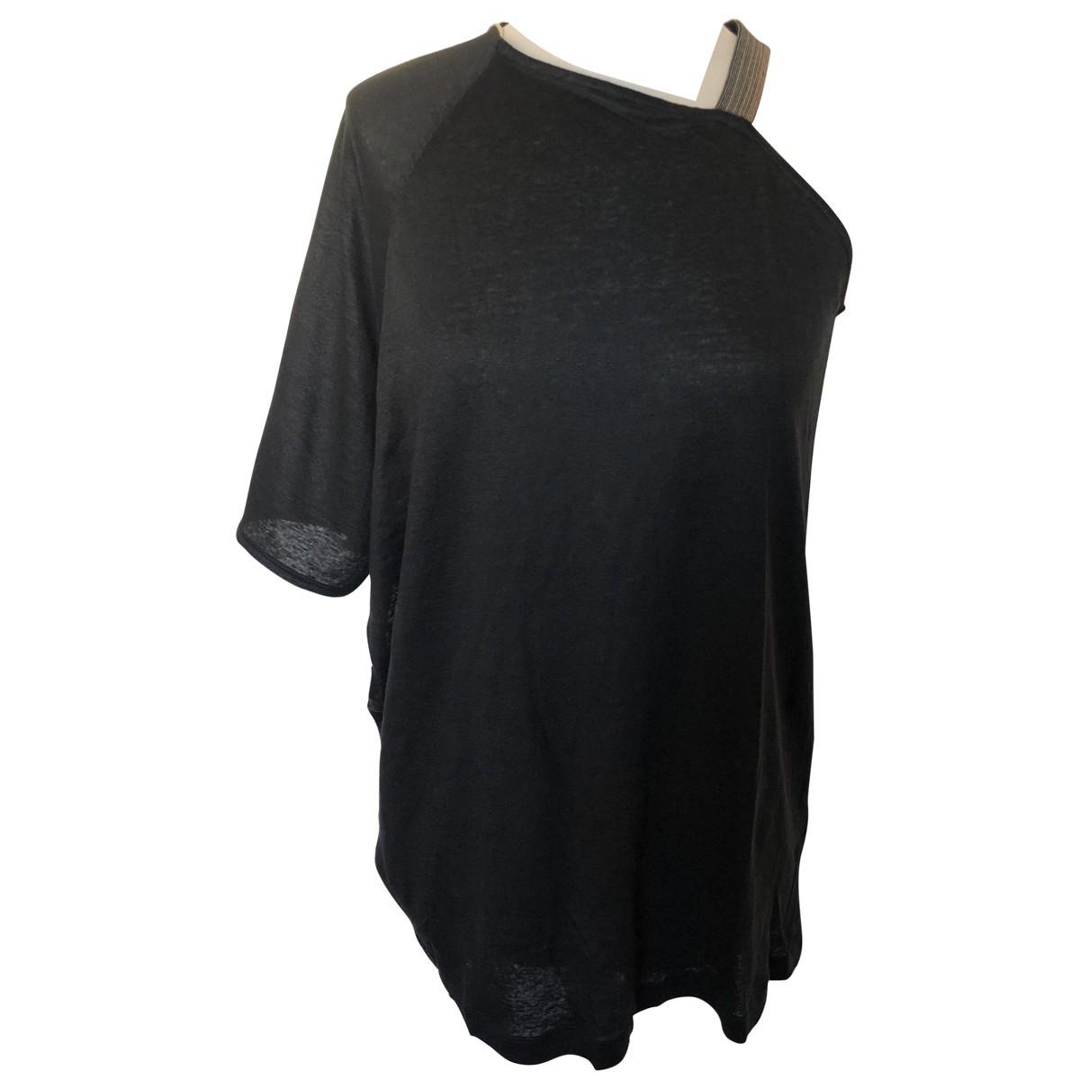Camiseta de Lino Brunello Cucinelli