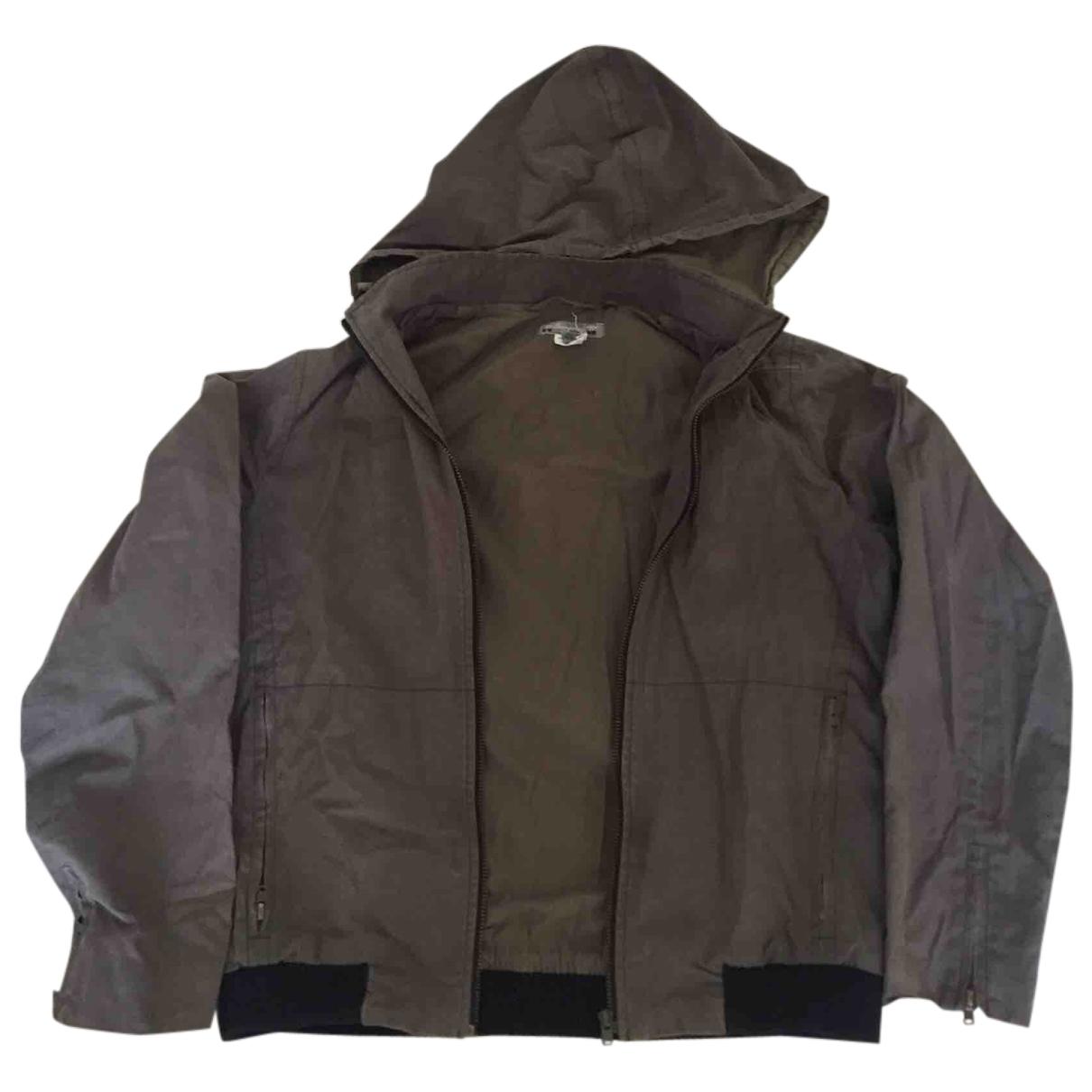 Bonpoint - Blousons.Manteaux   pour enfant en coton - kaki