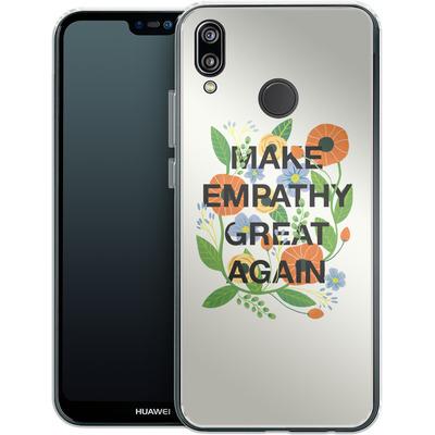 Huawei P20 Lite Silikon Handyhuelle - Make Empathy Great Again von Iisa Monttinen