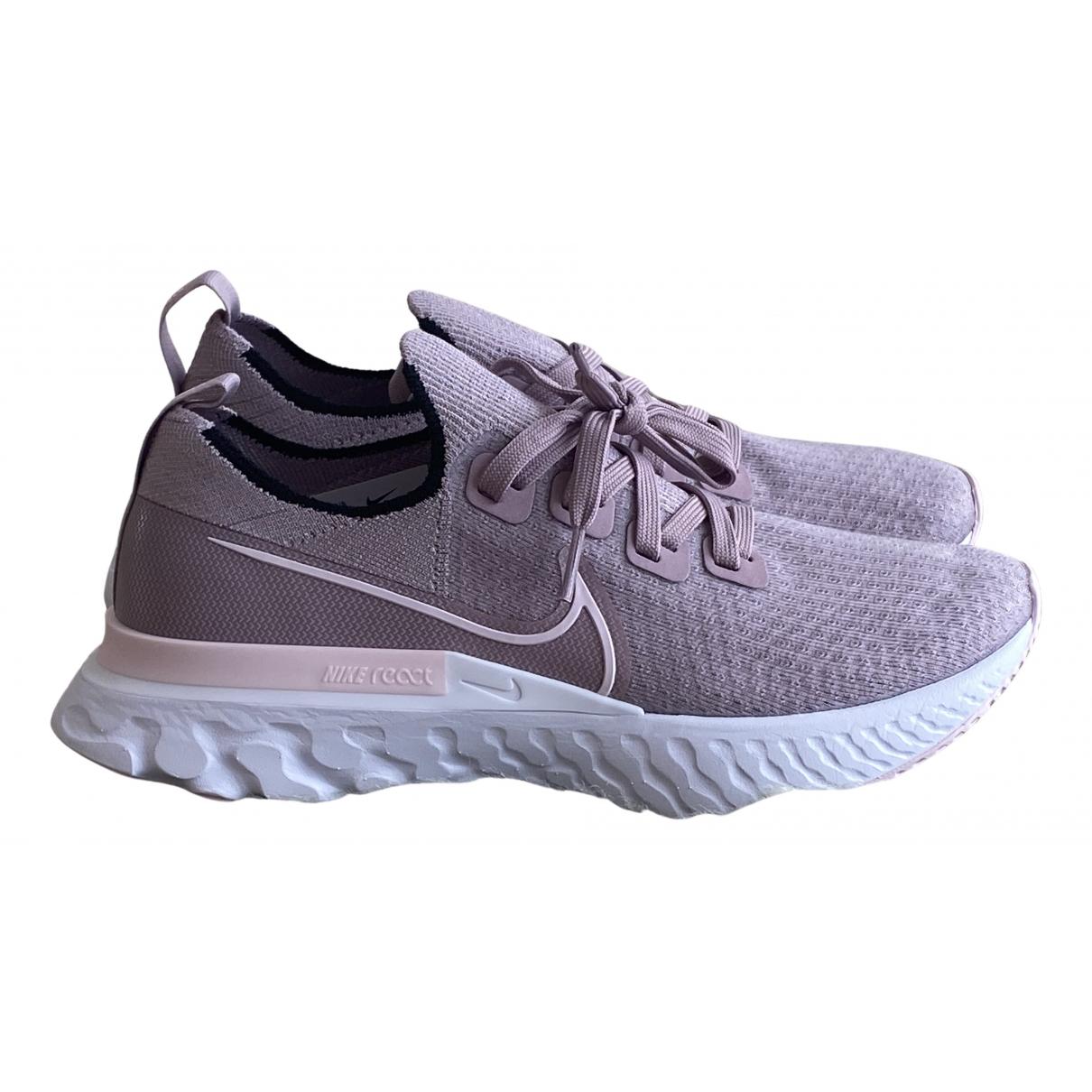 Nike - Baskets React Vapor Street pour femme - rose