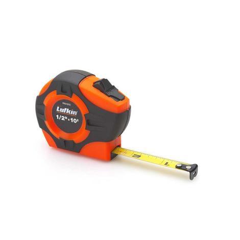 Lufkin Tape Measure, 19mm (3/4 In.) x 4m (13 Ft.) Engineer's Hi-Viz® Orange P1000