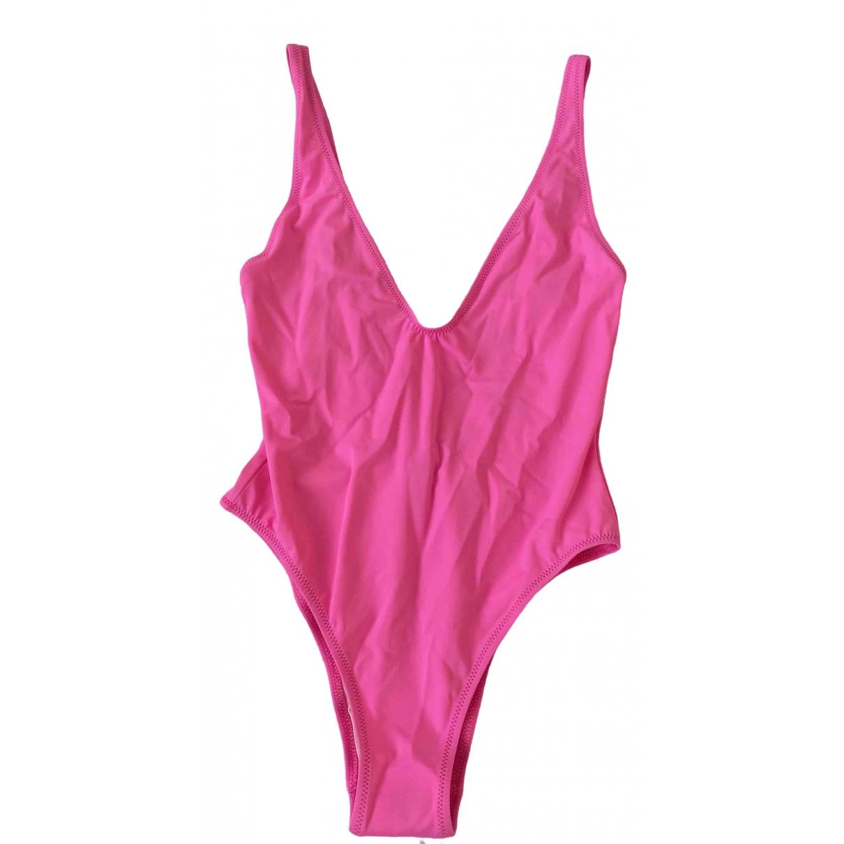 Solid & Striped \N Badeanzug in  Rosa Lycra