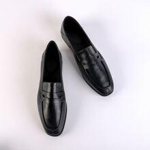Minimalistische Slip On Loafers