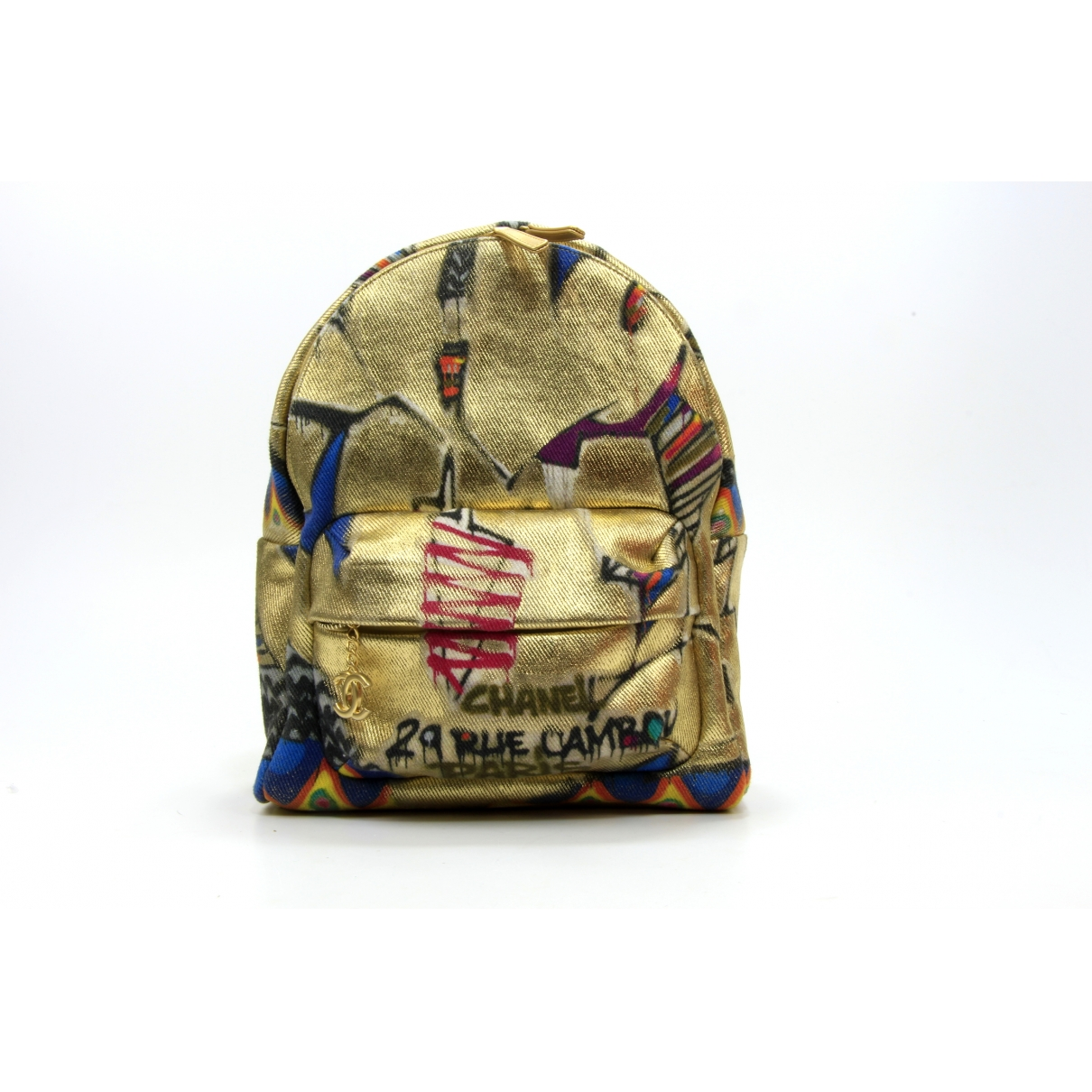 Chanel \N Multicolour Cotton backpack for Women \N