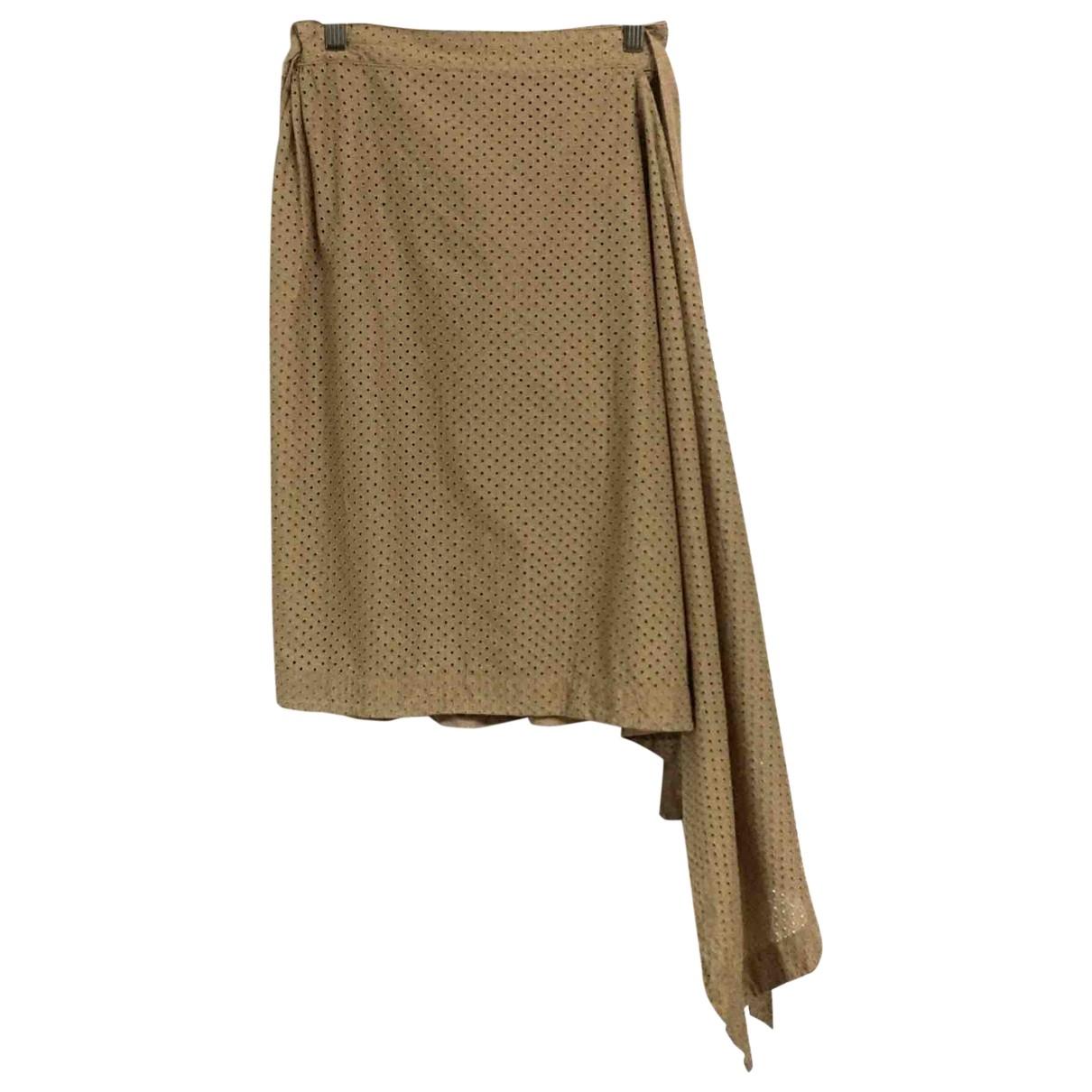 Vivienne Westwood Red Label - Jupe   pour femme en coton - beige