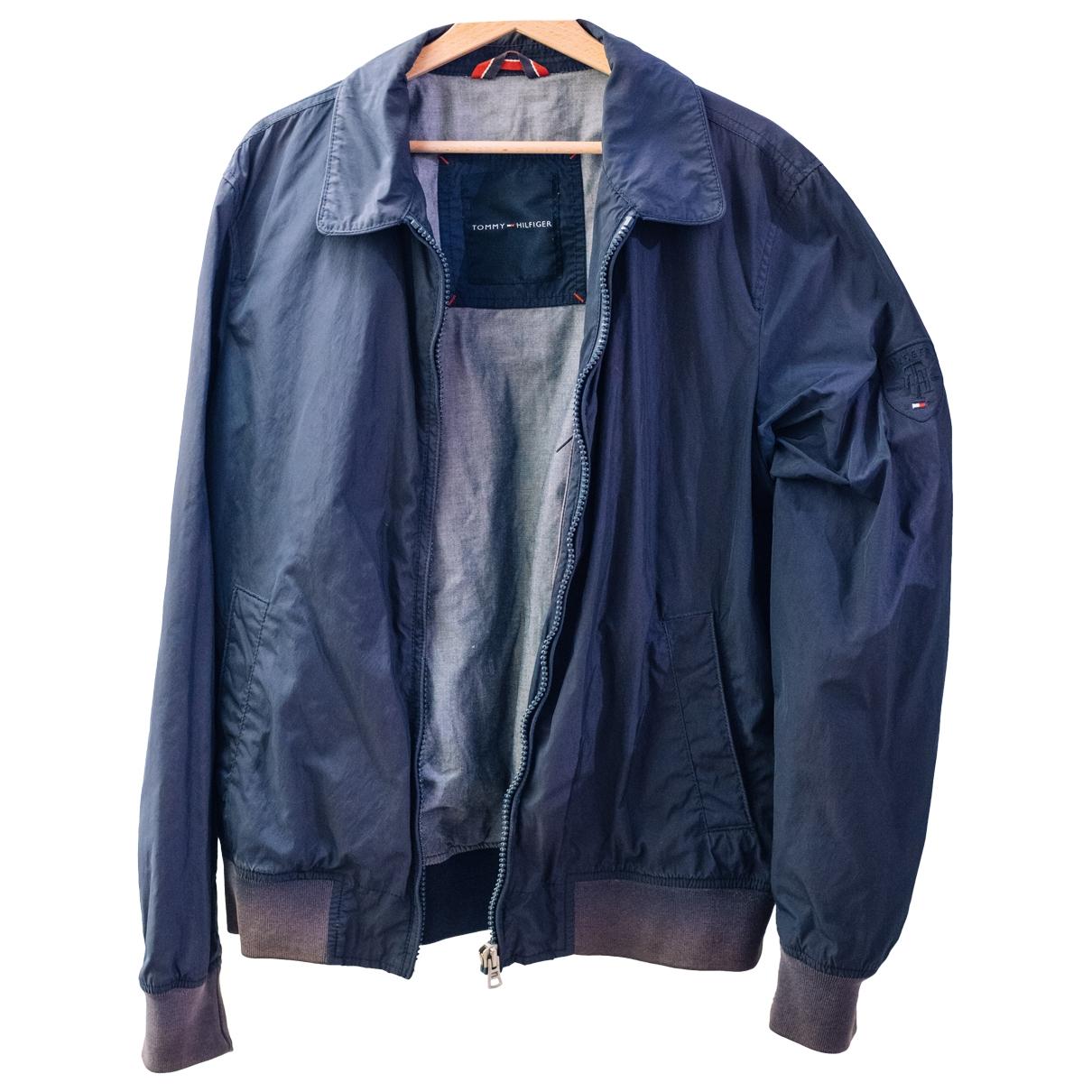 Tommy Hilfiger \N Jacke in  Blau Polyester