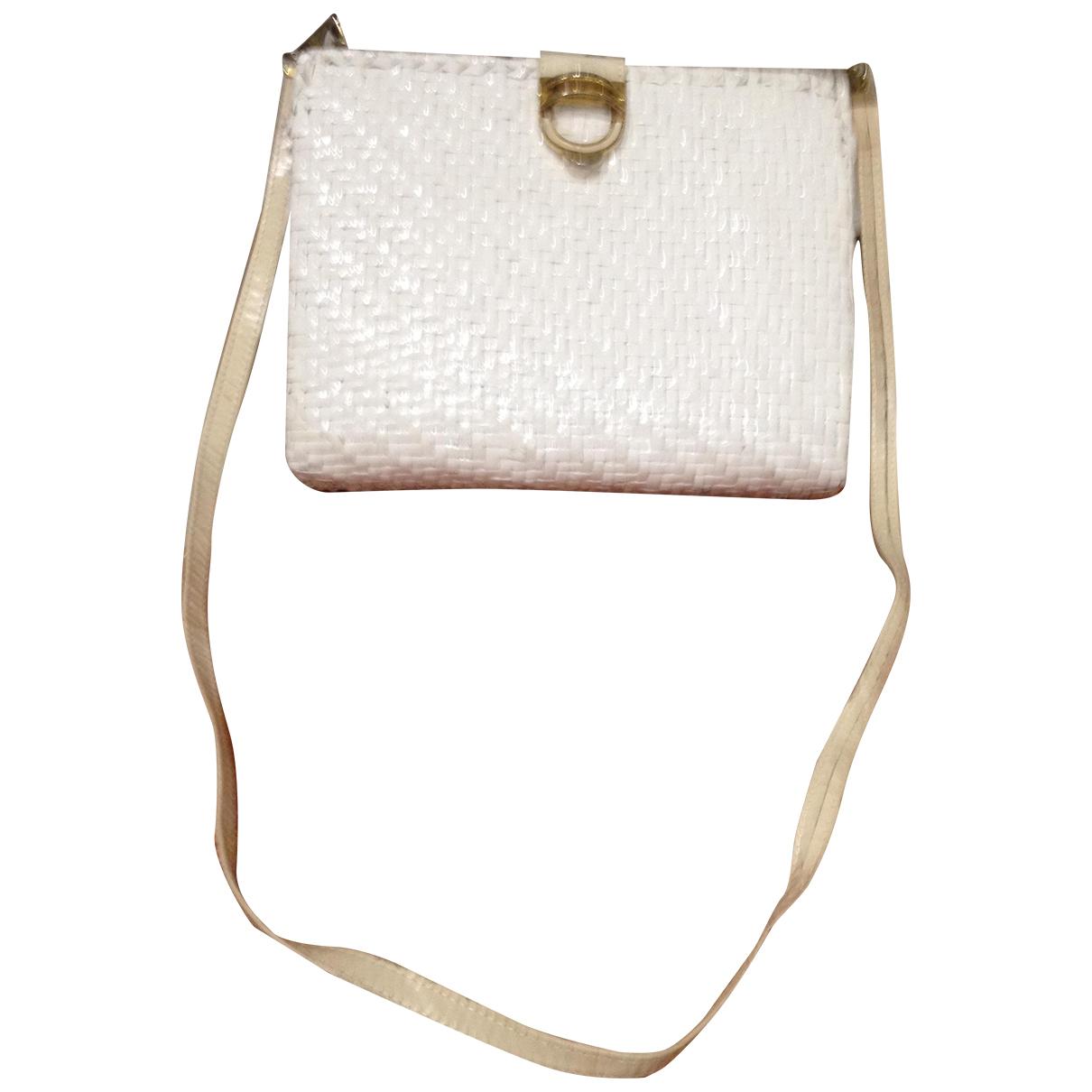 Rodo \N White Wicker handbag for Women \N