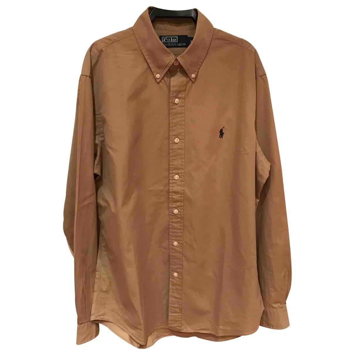 Polo Ralph Lauren \N Khaki Cotton Shirts for Men M International