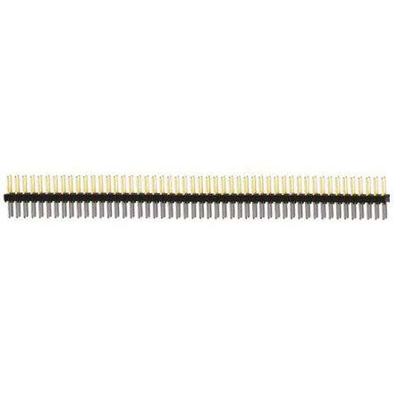 Samtec , TSW, 100 Way, 2 Row, Straight Pin Header