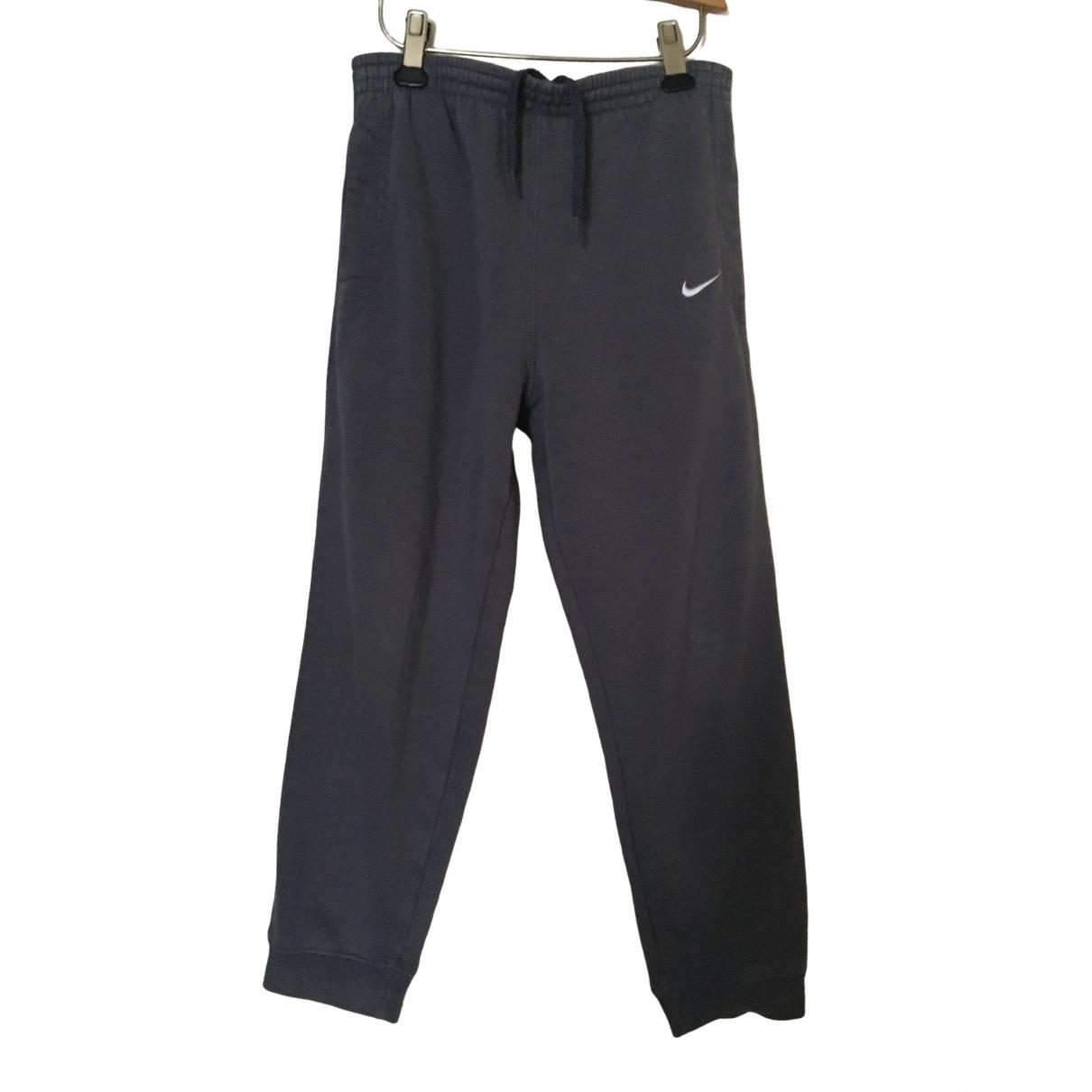 Nike - Pantalon   pour enfant en coton - gris
