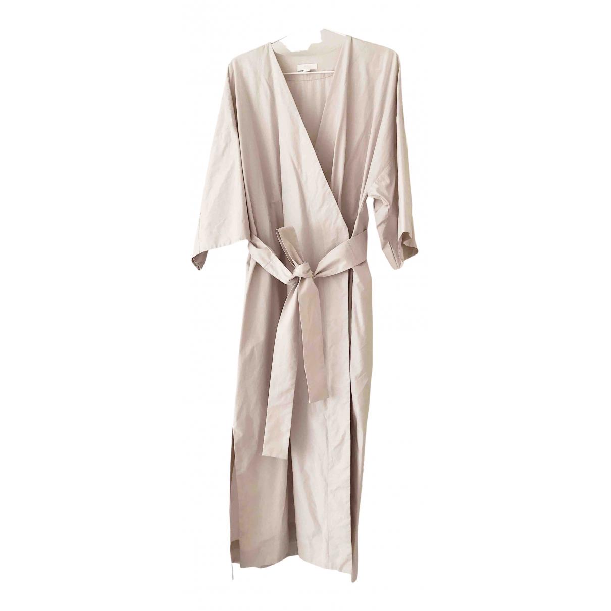 Cos \N Kleid in  Beige Baumwolle