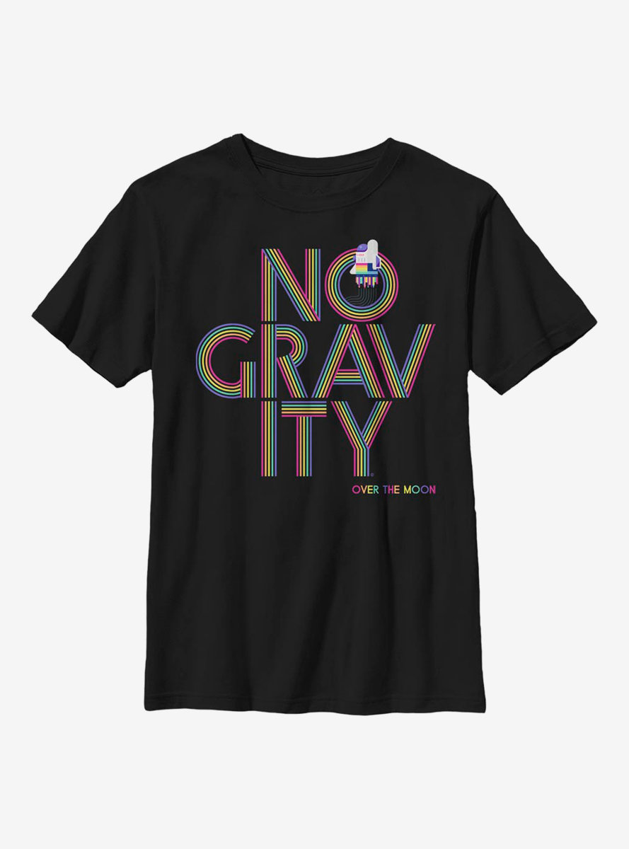 Over The Moon No Gravity Youth T-Shirt
