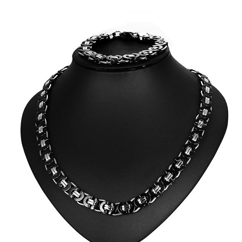 Ericdress Titanium Steel Men's Jewelry Set