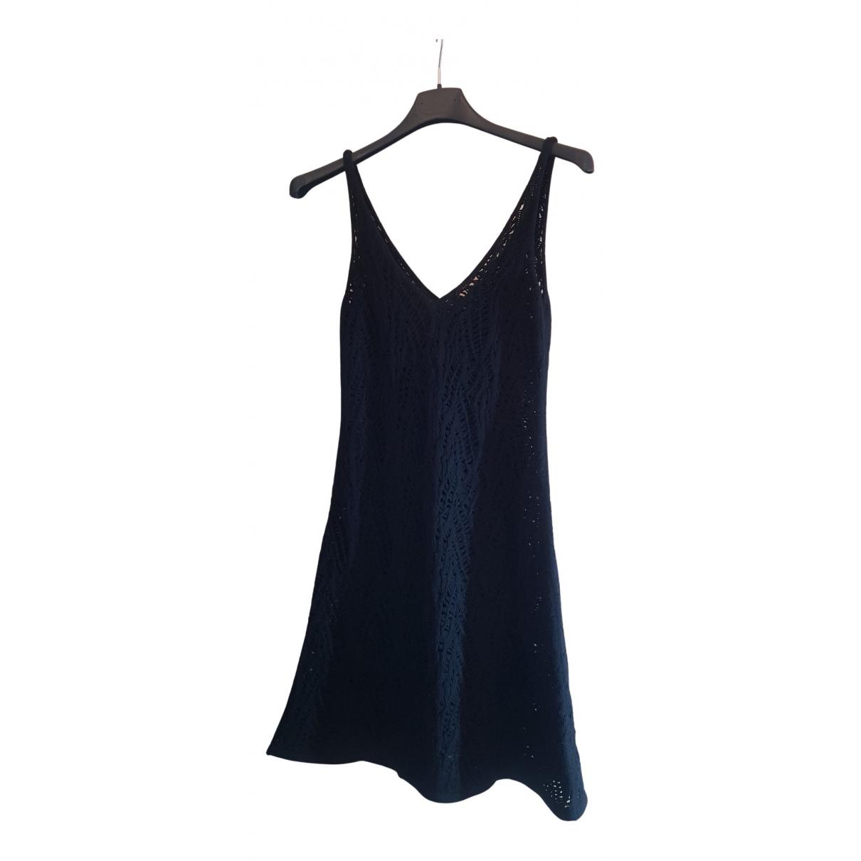 Liviana Conti \N Kleid in  Schwarz Wolle