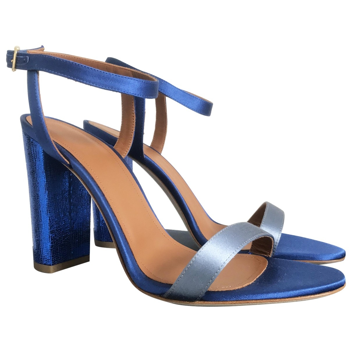 Malone Souliers \N Blue Cloth Sandals for Women 40 EU
