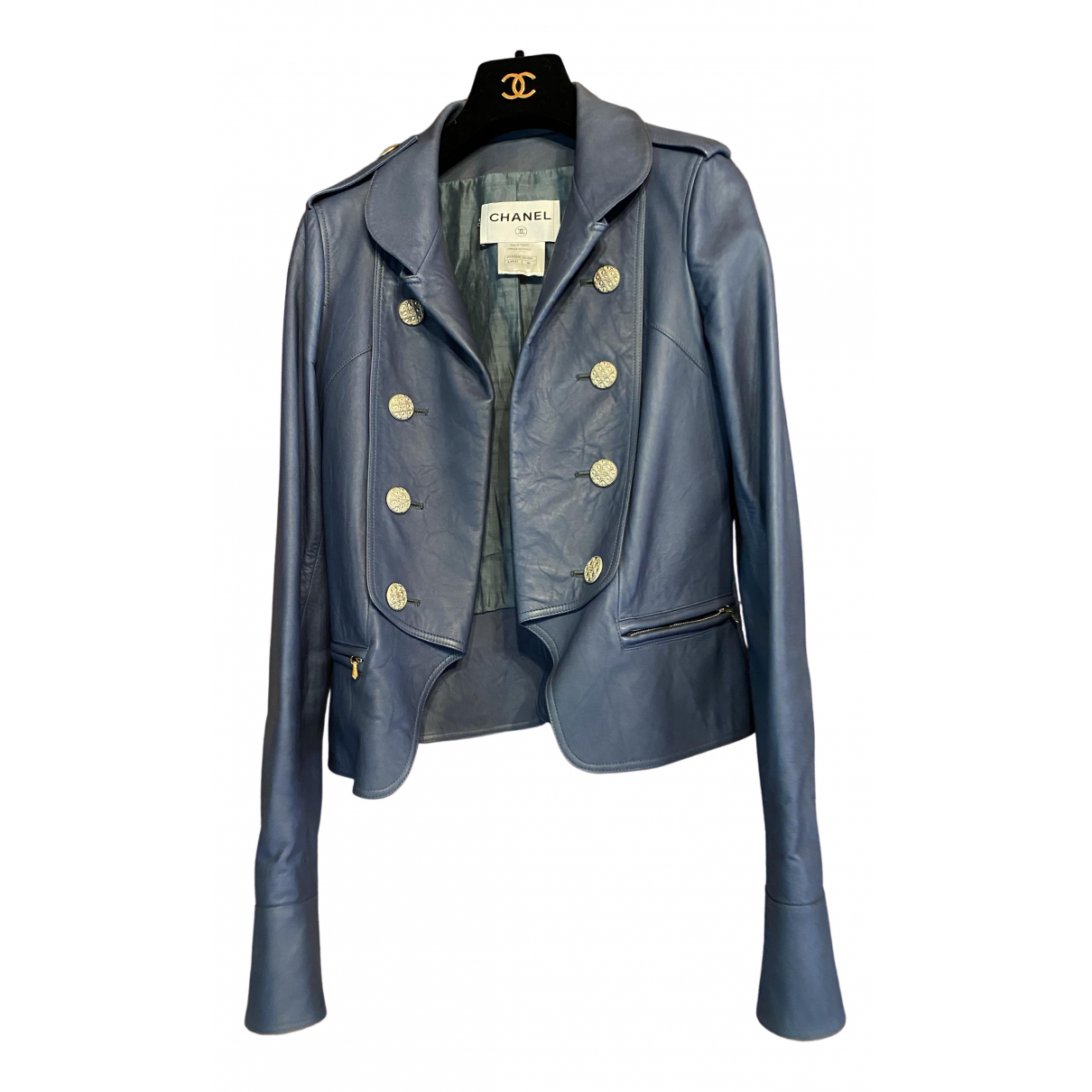 Chanel \N Leather jacket for Women 36 FR