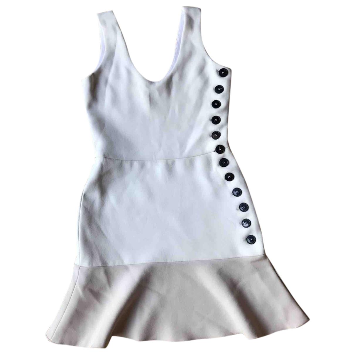 Victoria Beckham \N Beige Silk dress for Women 8 UK
