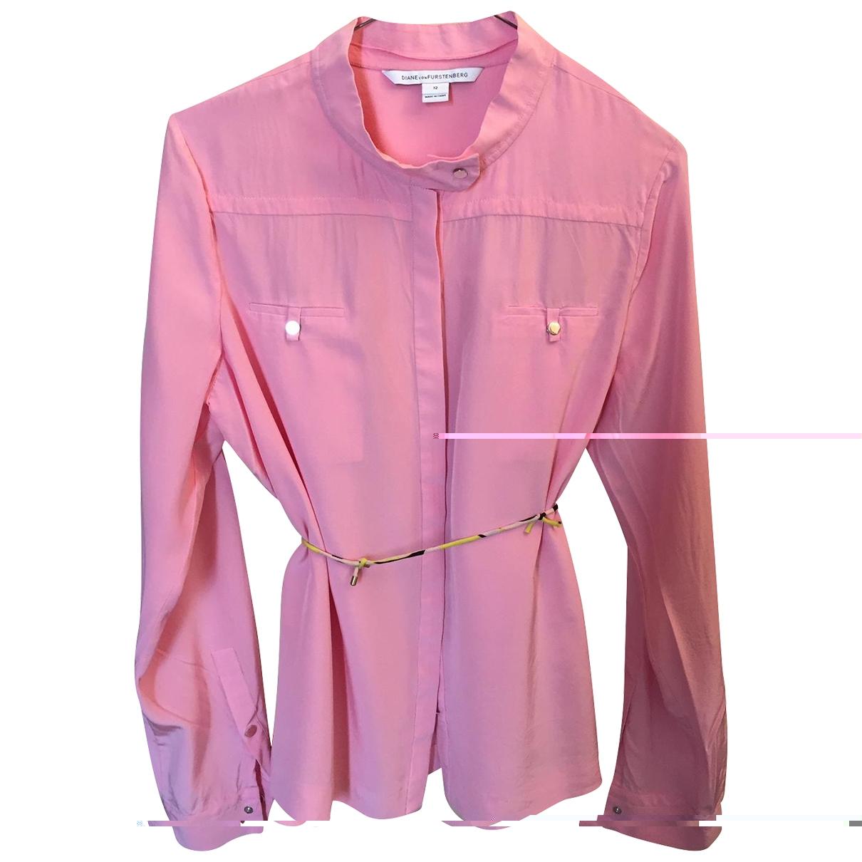 Camisa de Seda Diane Von Furstenberg