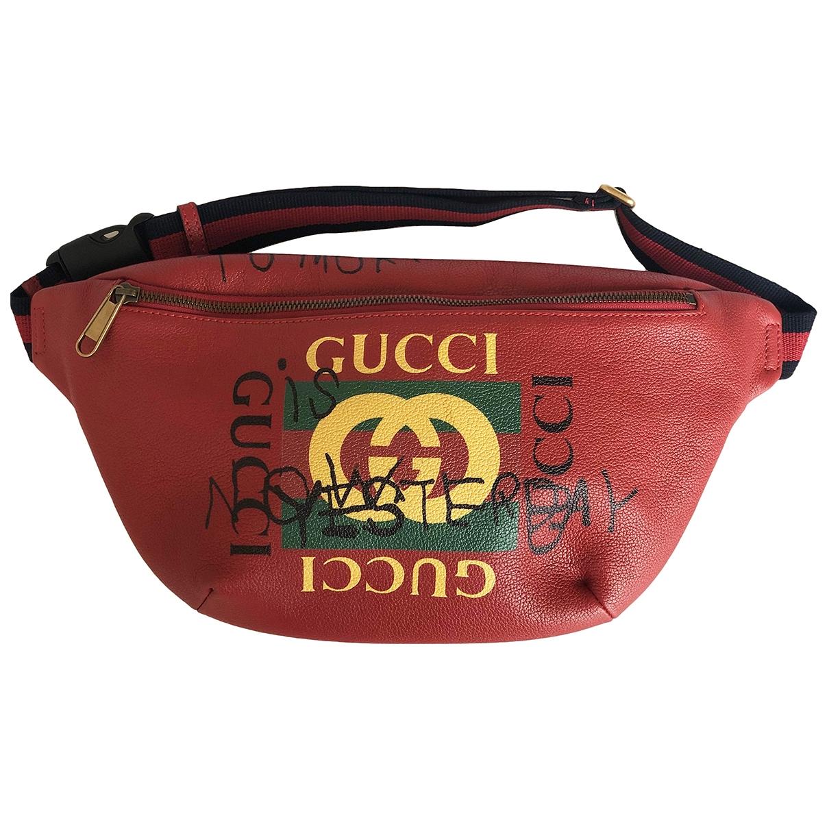 Gucci Coco capitan Clutch in  Bunt Leder