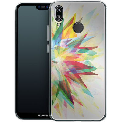Huawei P20 Lite Silikon Handyhuelle - Colorful 6 von Mareike Bohmer