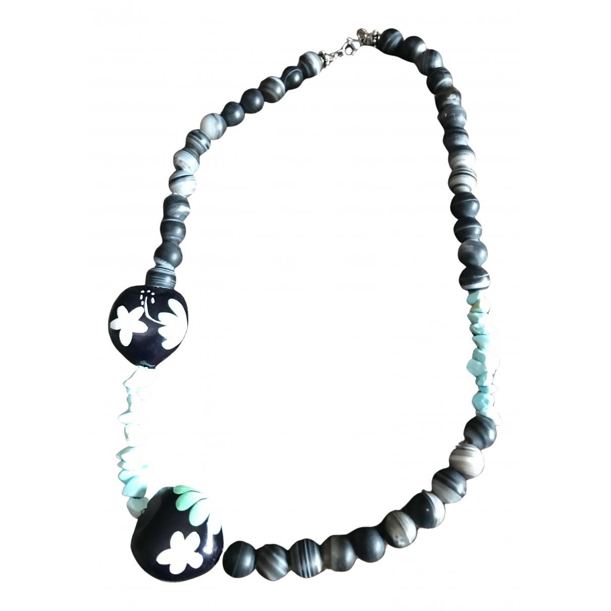 - Collier Motifs Ethniques pour femme en acier - multicolore