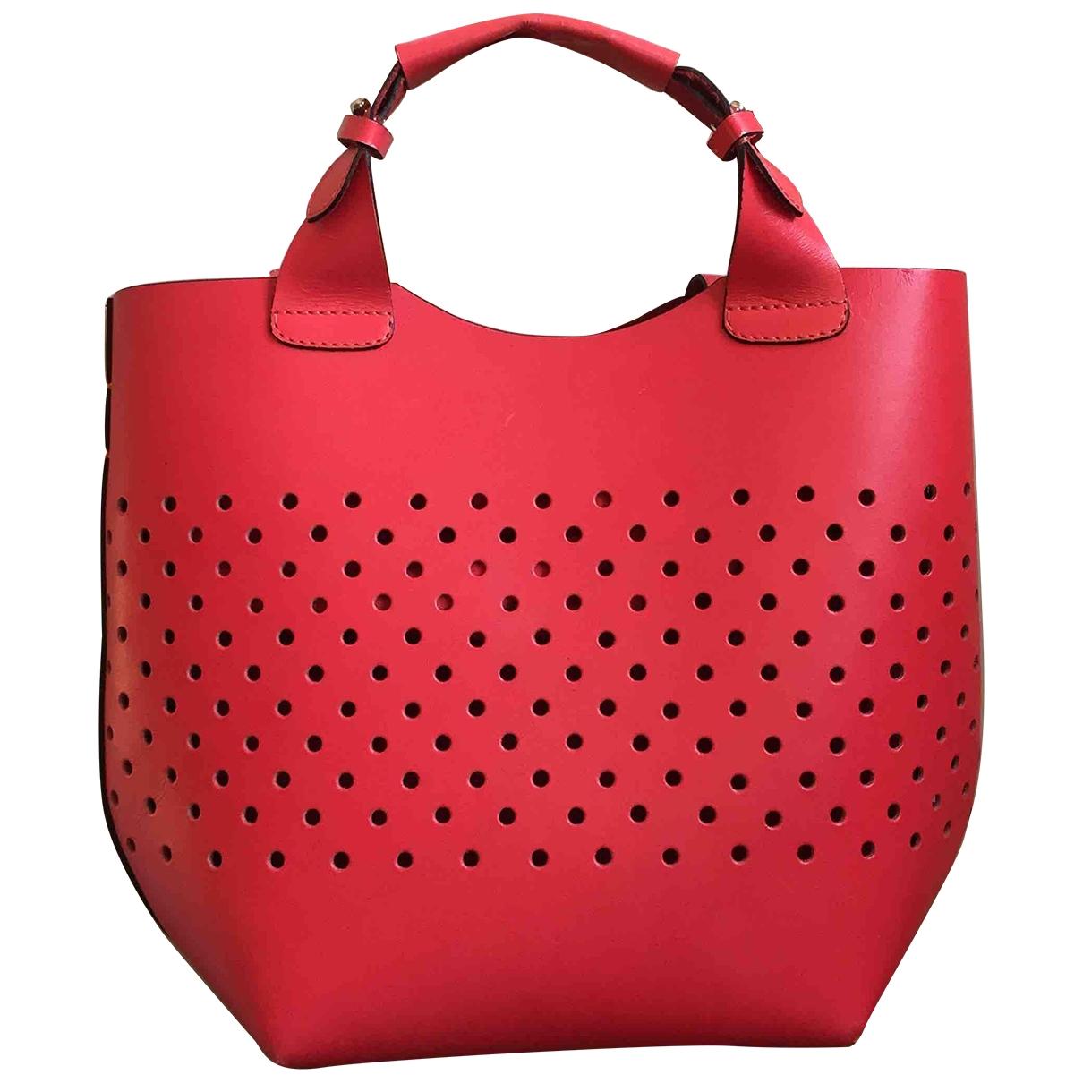 Zara - Sac a main   pour femme - rouge