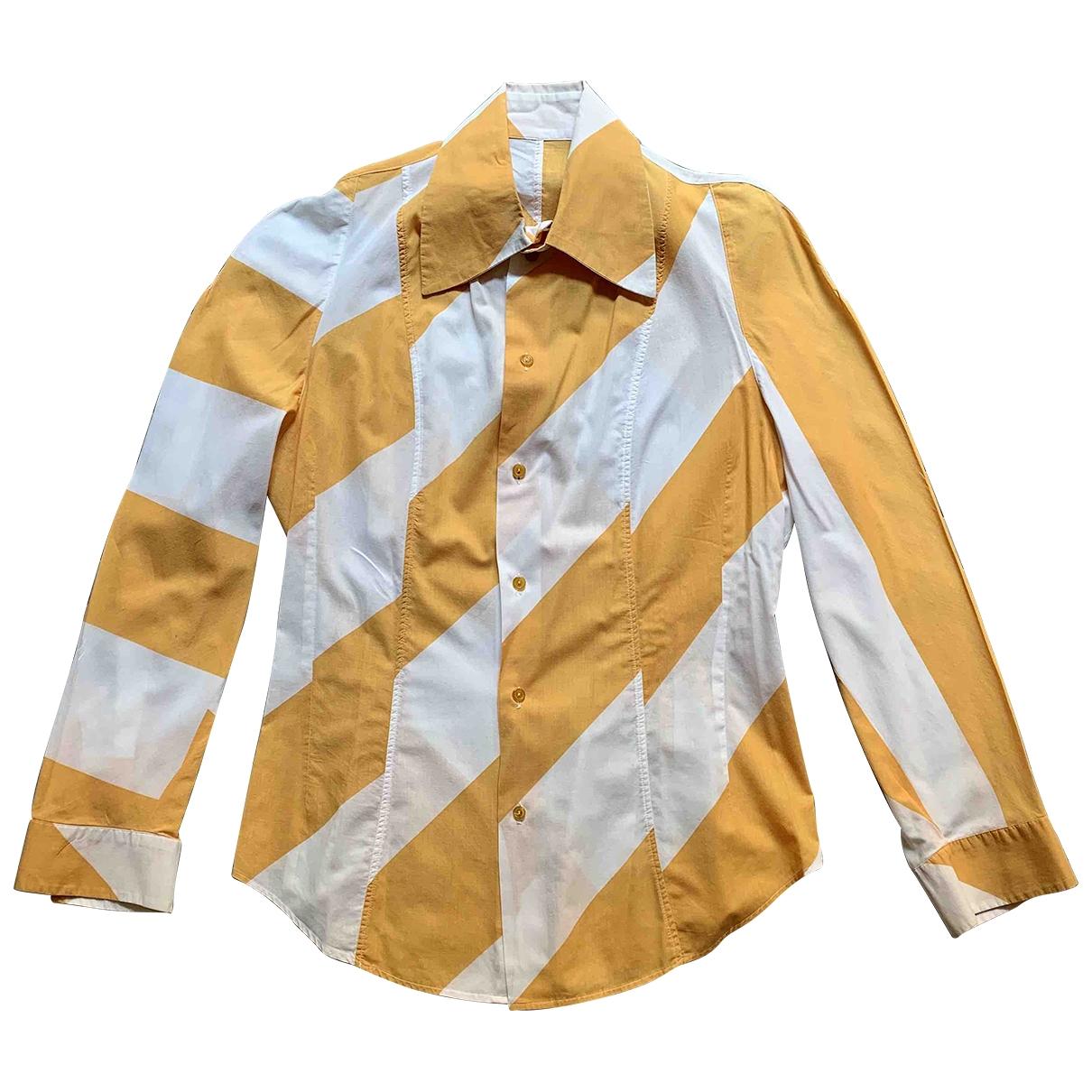 Vivienne Westwood \N Hemden in  Gelb Baumwolle