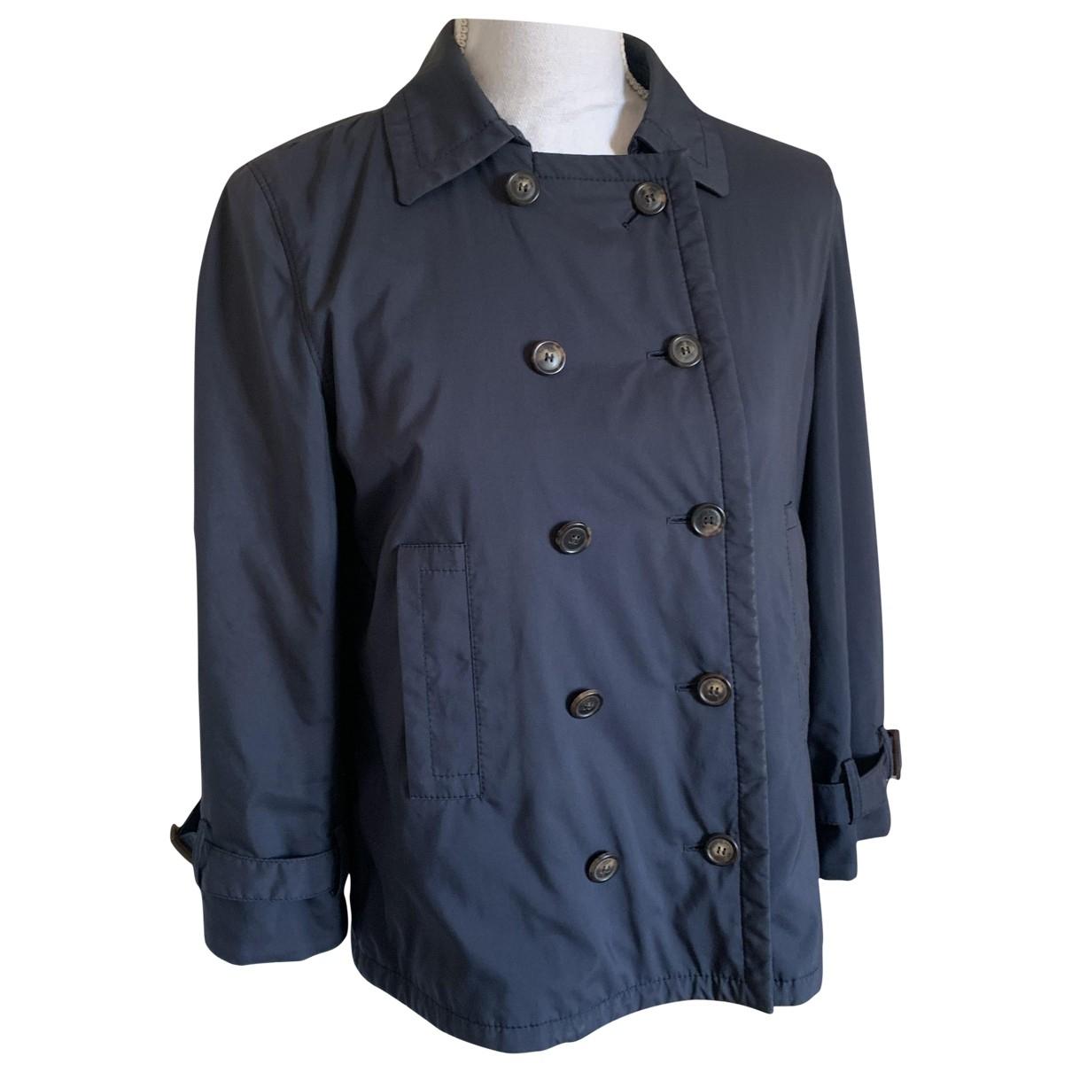 Loro Piana \N Blue Cashmere jacket for Women 40 IT