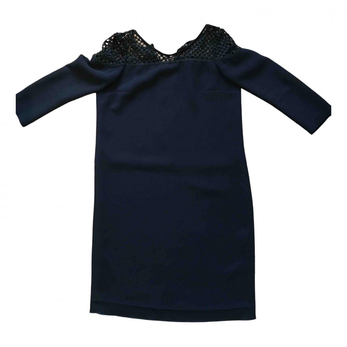 The Kooples - Robe Spring Summer 2020 pour femme - marine