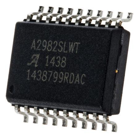 Allegro Microsystems A2982SLWTR-T Octal NPN + PNP Darlington Pair, 500 mA 50 V, 20-Pin SOIC W (5)
