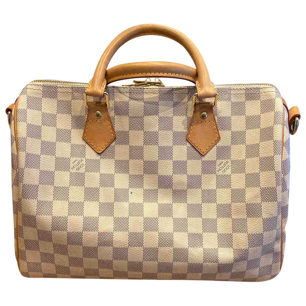 Louis Vuitton Speedy Blue Cloth handbag for Women \N