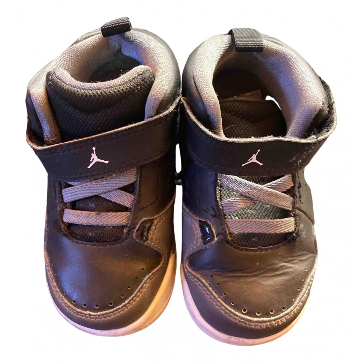 Jordan - Baskets   pour enfant en caoutchouc - noir