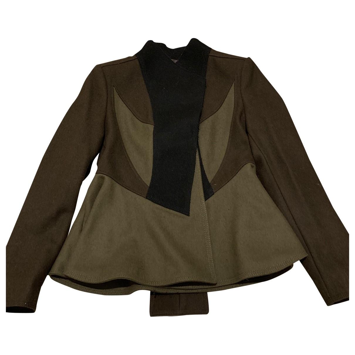 Givenchy - Veste   pour femme en laine - kaki