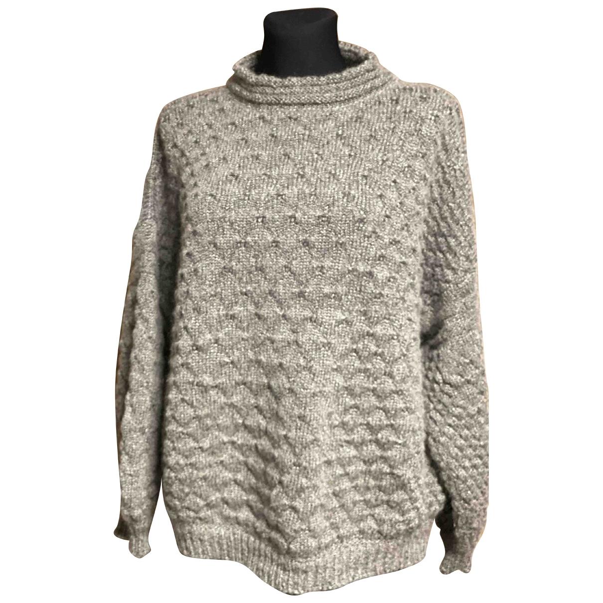 Yves Saint Laurent - Top   pour femme en laine - vert