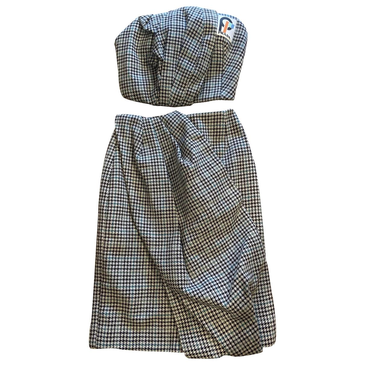 Prada \N Wool dress for Women 38 IT