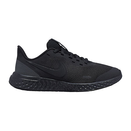 Nike Nk Revolution 5 (Gs) Boys Running Shoes, 5 Medium, Black