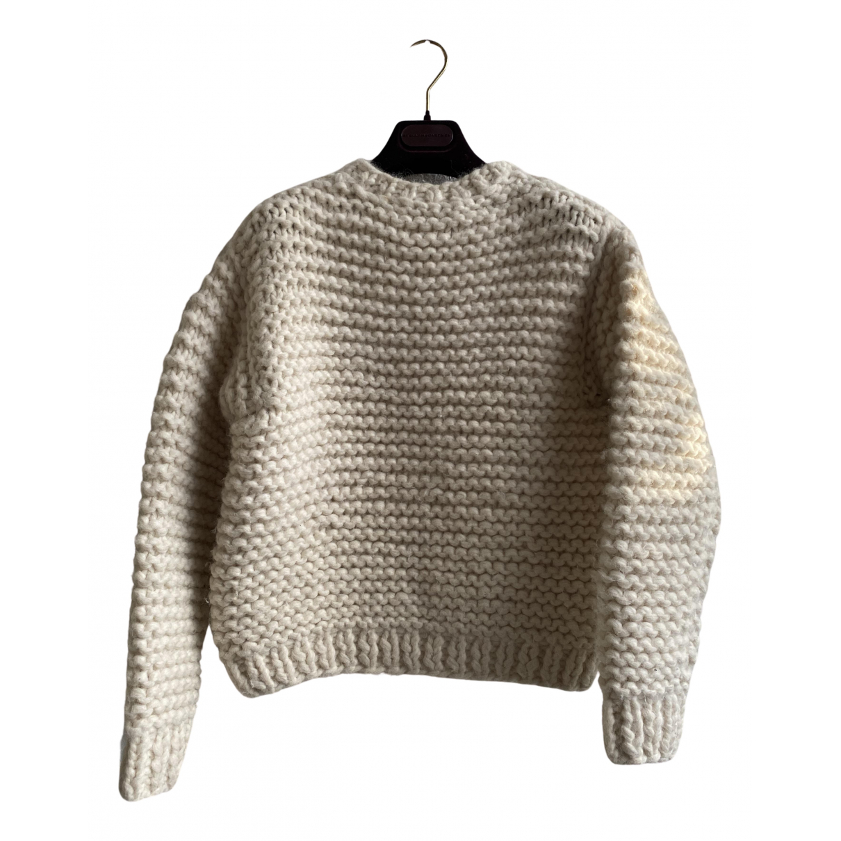 Stella Mccartney - Pull   pour femme en laine - blanc