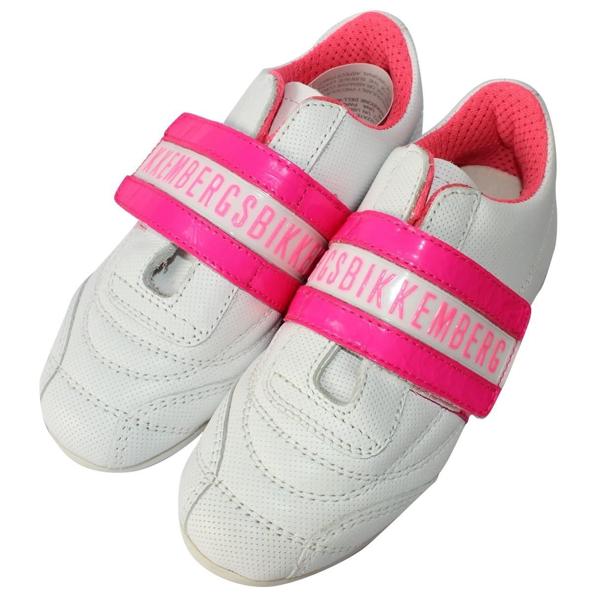 Dirk Bikkembergs \N Sneakers in  Weiss Leder