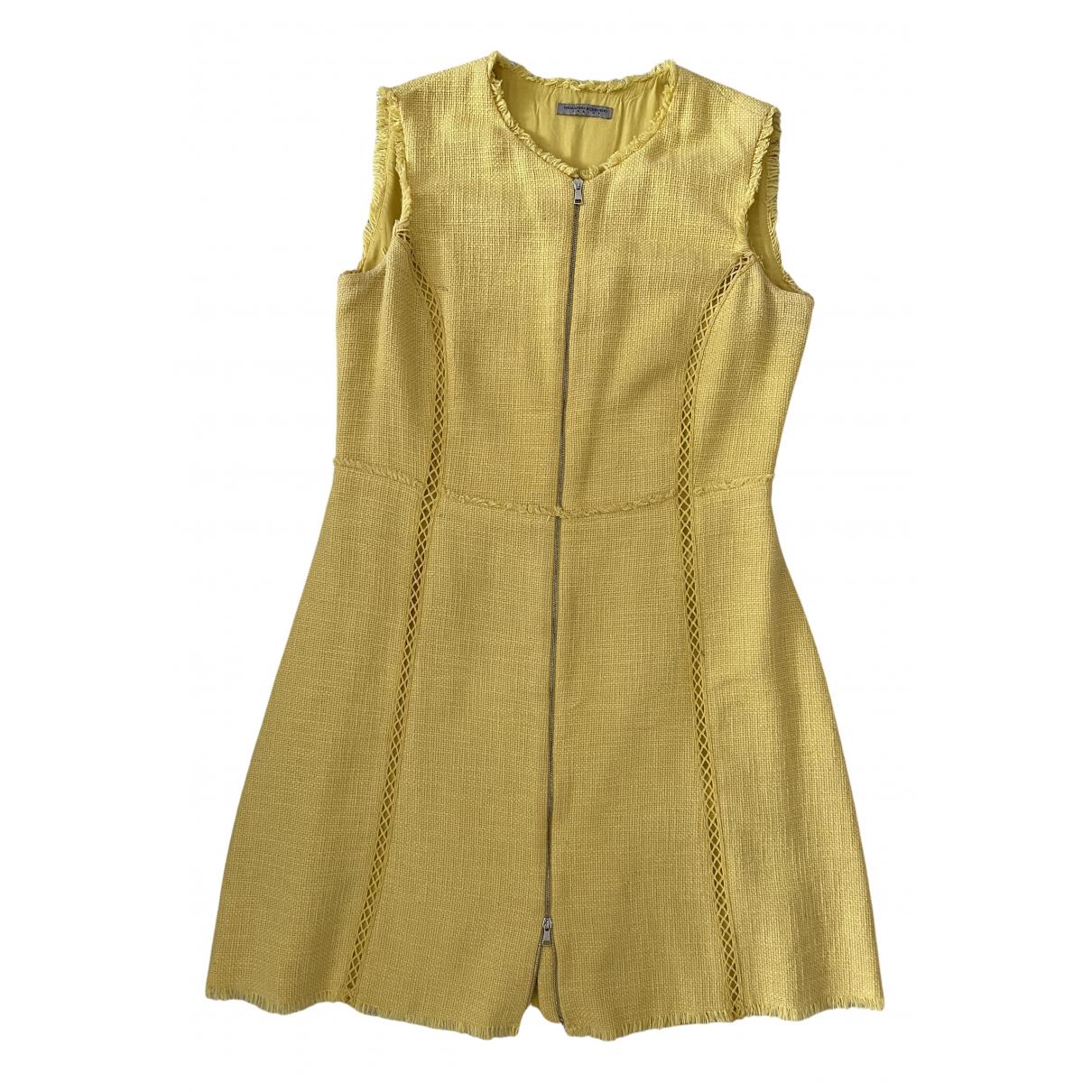 Ermanno Scervino - Robe    pour enfant en coton - jaune