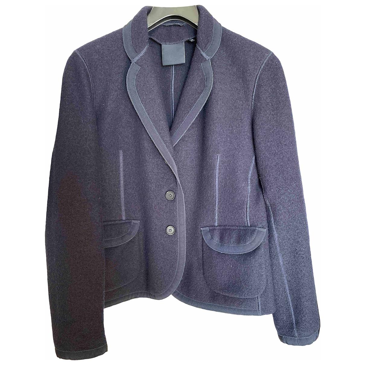 Aspesi \N Navy Wool jacket for Women 46 IT