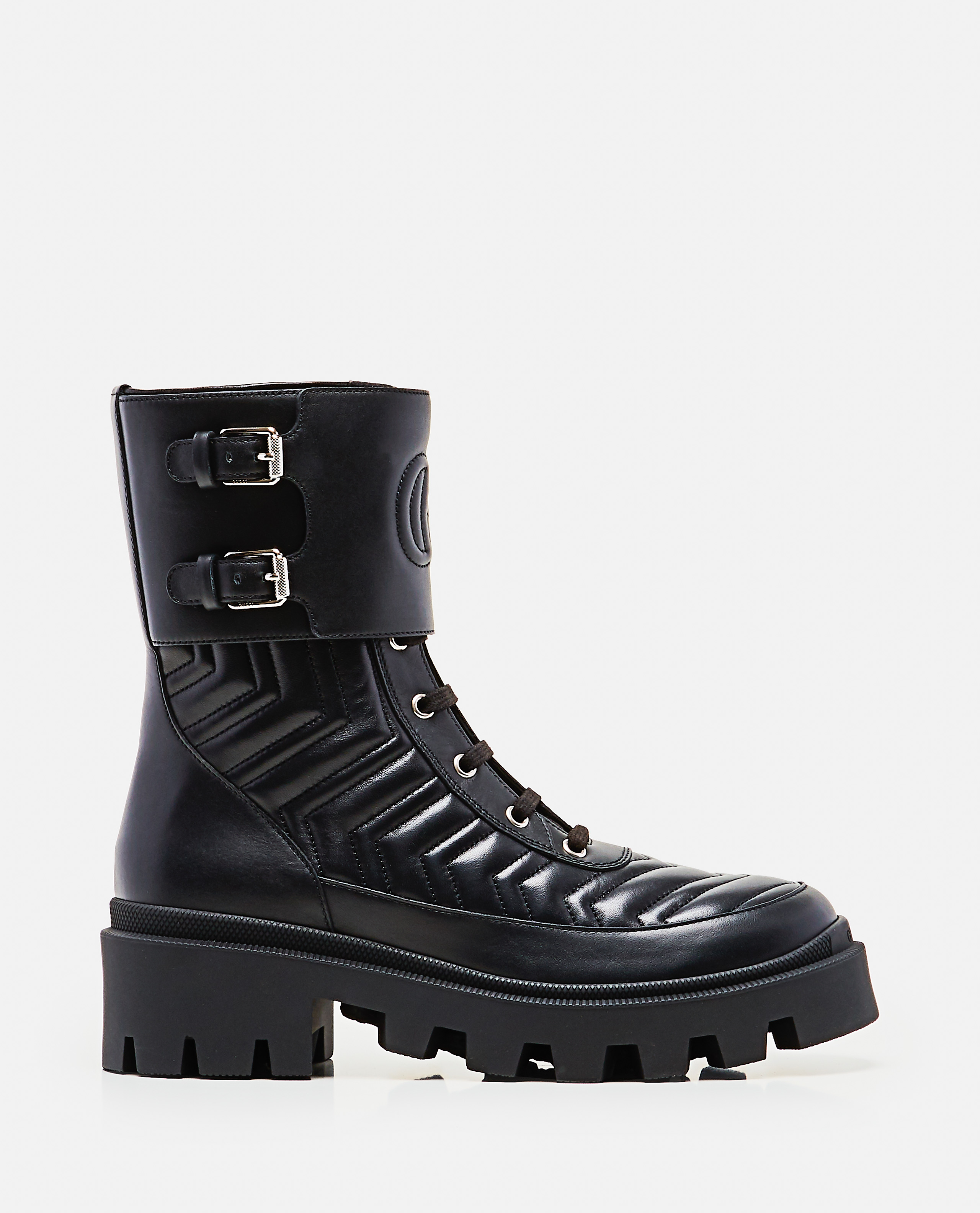 Womens boot with GG detail