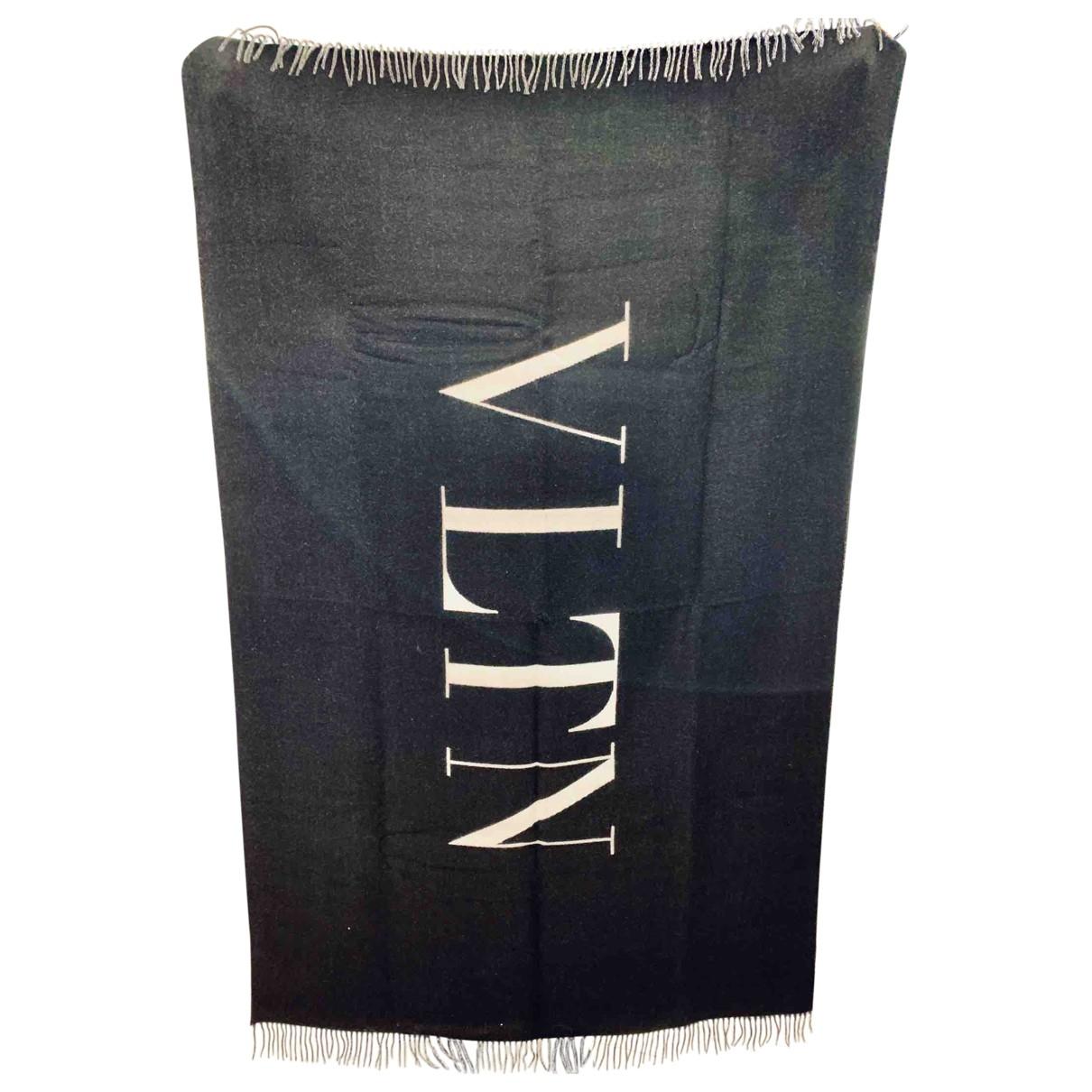 Valentino Garavani - Linge de maison   pour lifestyle en laine - noir