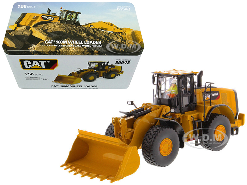 CAT Caterpillar 980M Wheel Loader with Rock Bucket and Operator