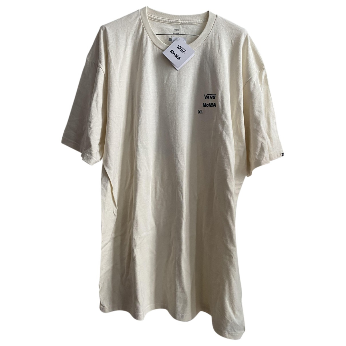Vans - Tee shirts   pour homme en coton - blanc