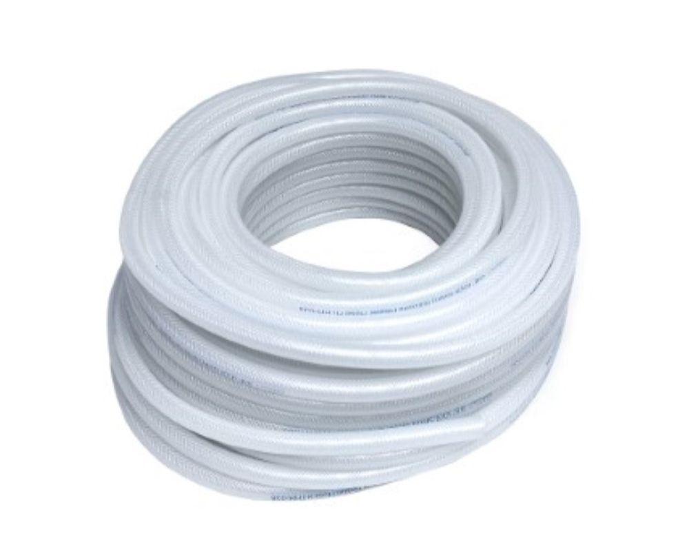 HPS 1/8 ID Clear Silicone Heater Hose 100 Feet Roll