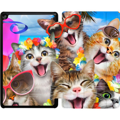 Amazon Fire HD 8 (2018) Tablet Smart Case - Selfie Luau von Howard Robinson