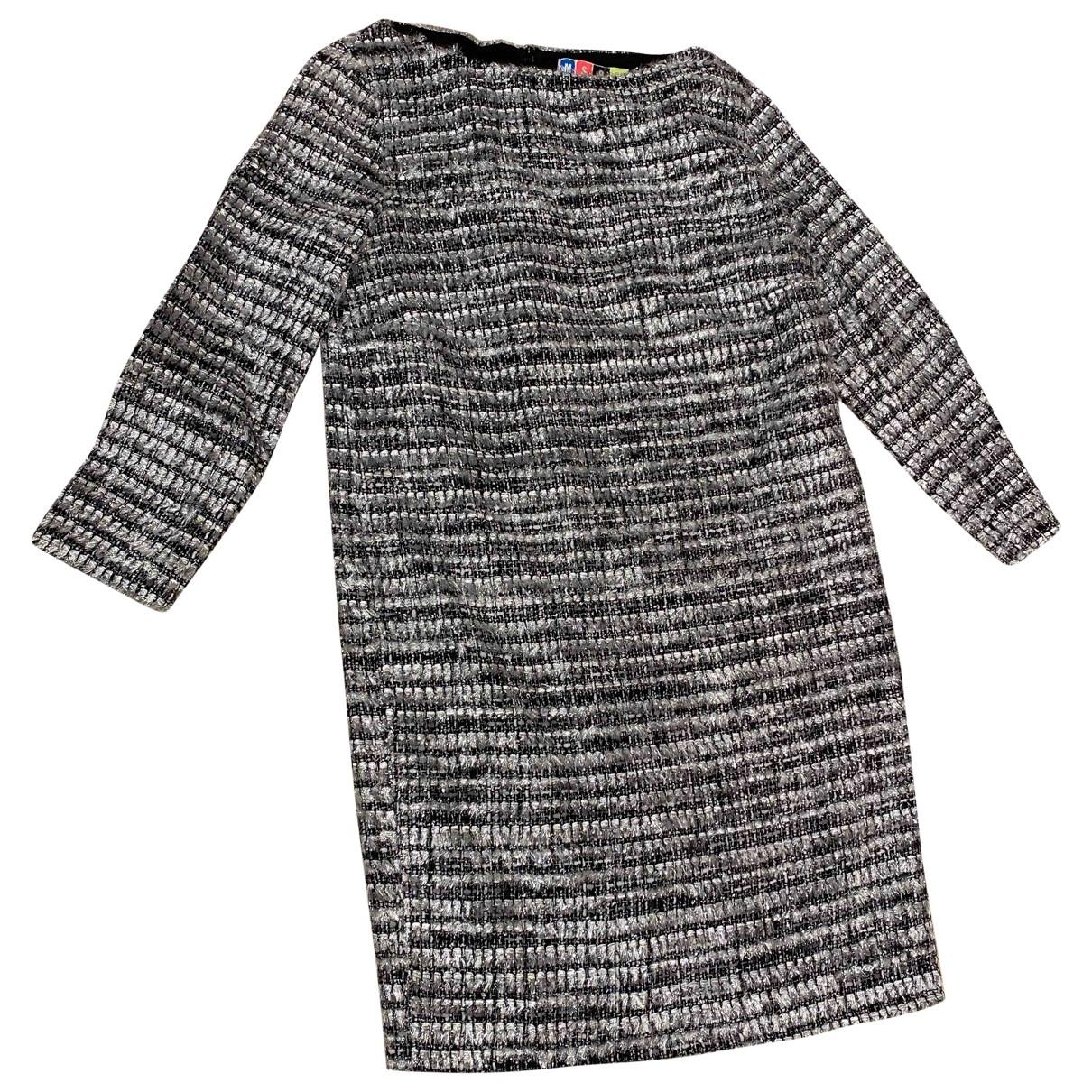 Msgm \N Kleid in  Silber Polyester