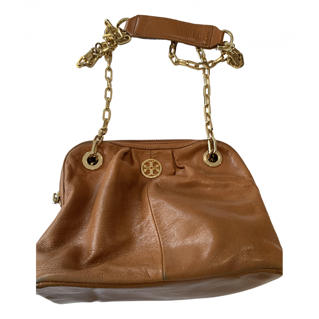 Tory Burch \N Brown Leather Clutch bag for Women \N